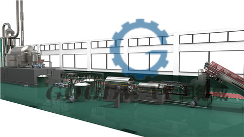 Sweet potato starch automatic production line